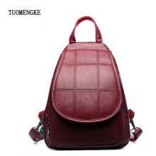 Fashion Leisure Women Backpacks Female PU Leather School Shoulder Bags for Teenage Girls 2018 Travel Bag pack