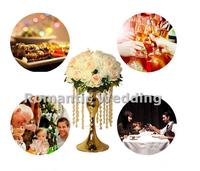 Free Shipment 10PCS Lots Acrylic Candlestick Flover Vase For Wedding Decorations Event Products Party Decorations