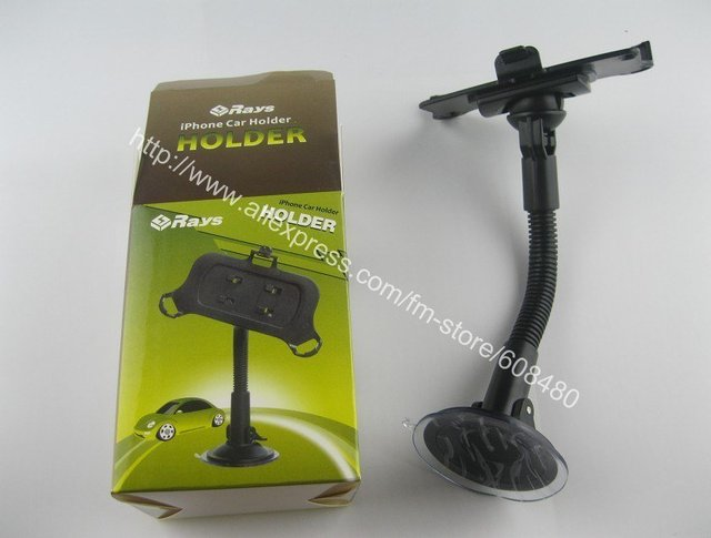 special car auto mount holder for iphone 4 4G only 360 degree rotation