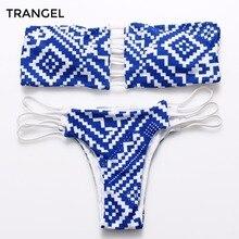2015 Women New sexy Beach Reversible Printed Swimwear Ladies biquinis brazilian bikini Push UP Swimwear Swimsuit