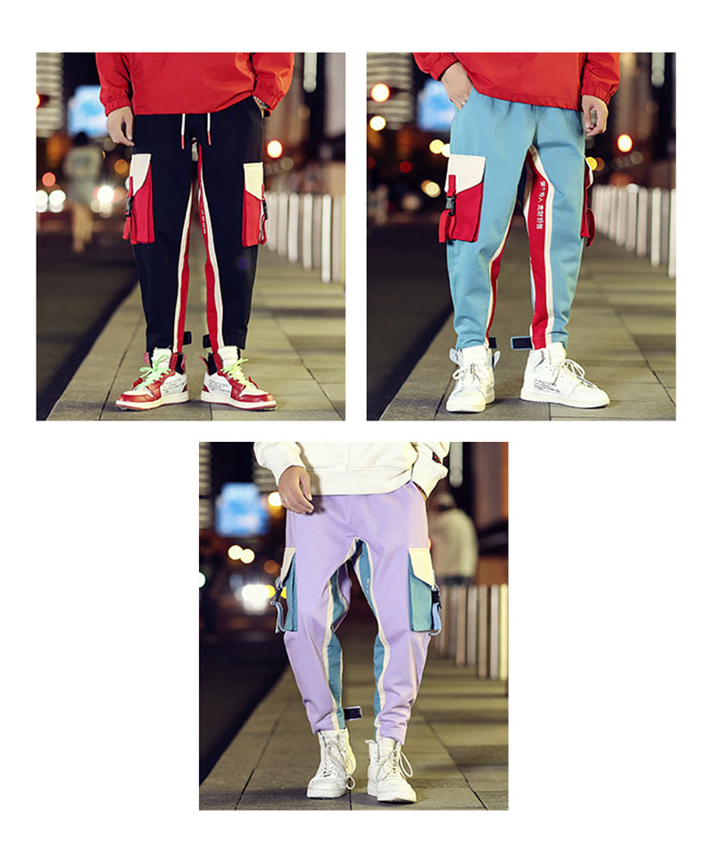 Cool Cargo Pants Men Casual Hip Hop Fashion (5)