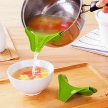 Сковороды Rim герметичная кухонная силиконовая воронка кухонные инструменты цвет случайный