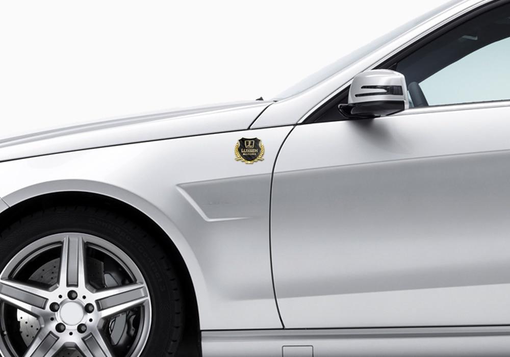 Anti Scratch Car Sticker Emblem Rear Trunk Decal Car Window Badge For Luxgen U5 U6 U7 Master CEO Mpv Suv Vehicle Decoration in Car Stickers from Automobiles Motorcycles