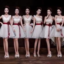 Short Bridesmaid Dress Summer Women Lady Wedding Party Forma