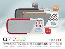 Original Q7 NOGO Plus altavoz del altavoz portable tf/u-disco con radio FM, MICRÓFONO, grabación de Alarma reloj, reproductor de MP3