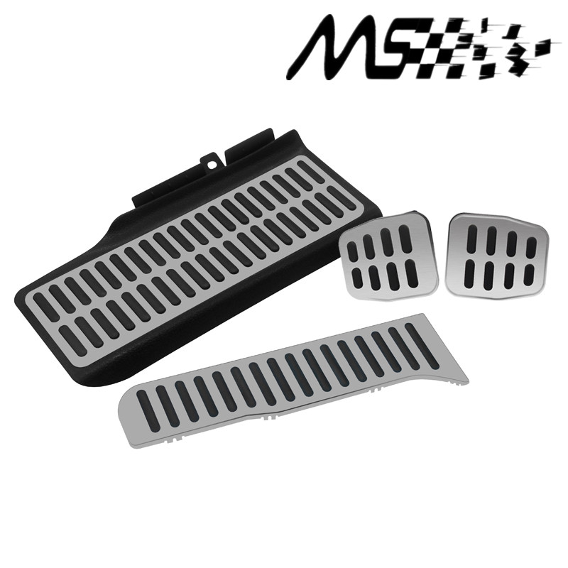 Passat 4pcs Manual Transmission Foot Pedal,Brake car covers for Volkswagen New Sagitar New Passat New Touran kits