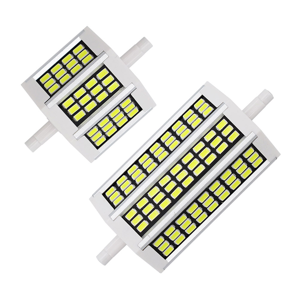 Smd 5733 led r7s bulb 10w 20w 78mm 118mm ac 220v floodlight corn light replace compact for R7s led 118mm 20w