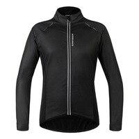 2016 New PU Leather Waterproof Windproof Thermal Cycling Jacket Men Women Bicycle Clothing Bike Wind Coat Winter Cycling Jacket