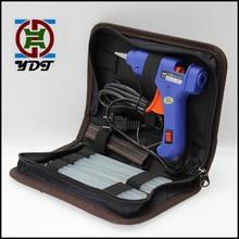 20 Вт ЕС США штекер термоплавкий Клеевой Пистолет наборы с 7 мм клеевой Карандаш Мини-пистолеты термо Электрический термотемпературный инструмент