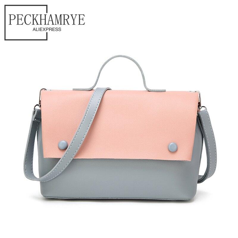 2018 new shoulder Bag Set flap Women Handbag Pu Leather Messenger Bags Shoulder Bags Women Crossbody Bag Ladies Designer