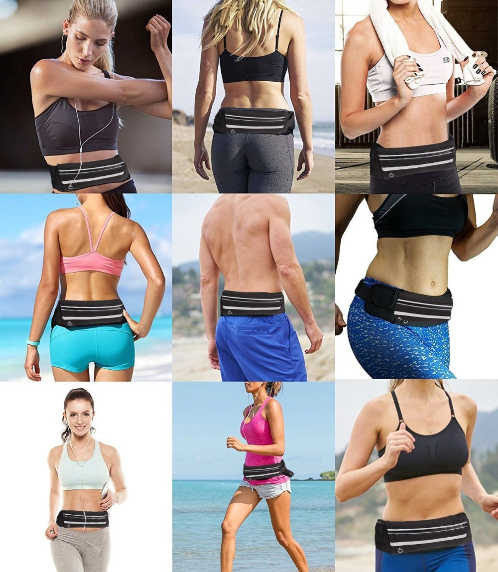 Men Women Running Waist Bag Waterproof Mobile Phone Holder Jogging Sports Running Gym Fitness Bag Lady Sport Accessories 23