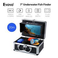 EYOYO 7 HD 1000TVL 20M 12pcs White LED Light Fish Finder Underwater Ocean River Lake Sea