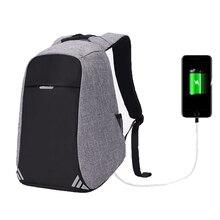 купить USB Charging Men Laptop Backpack for School Women Men Computer Journey Female Travel Anti Theft Backpacks Back pack Male Mochila по цене 1338.45 рублей