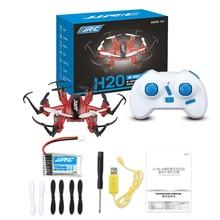 HOT! Mini RC Drone 6 Axe Rc Dron Jjrc H20 Micro Quadricoptères 3D Roulement Sans Tête Vol Hélicoptère Télécommande Hélicoptères Jouets