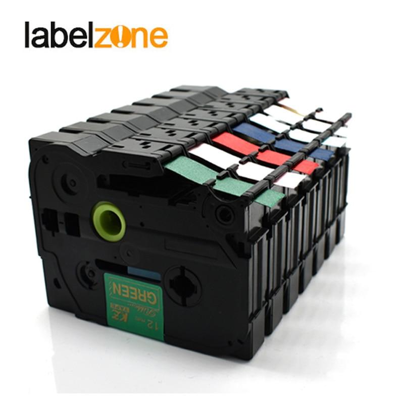 Tze-R231 Satin Ribbon Tapes Compatible Brother P-touch Printers Tze-RE34 Tze-RN34 Tze-RW34 Tze-RG34 TZE R231 For Pt-d200 D210