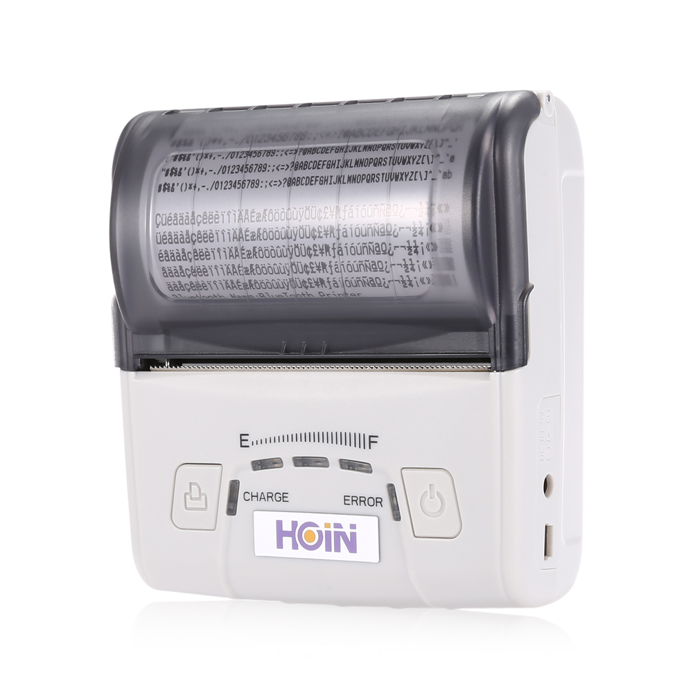 HOIN HOP - E300 USB / Bluetooth / WiFi Portable Rechargeable Thermal Receipt Printer Wired/Wireless Printing POS все цены