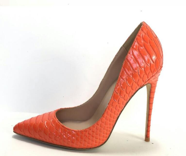 Высокое качество классические высокий тонкий каблук Для женщин Туфли под платье 8/10/12 см каблуке кожа выходные женские туфли-лодочки обувь ...