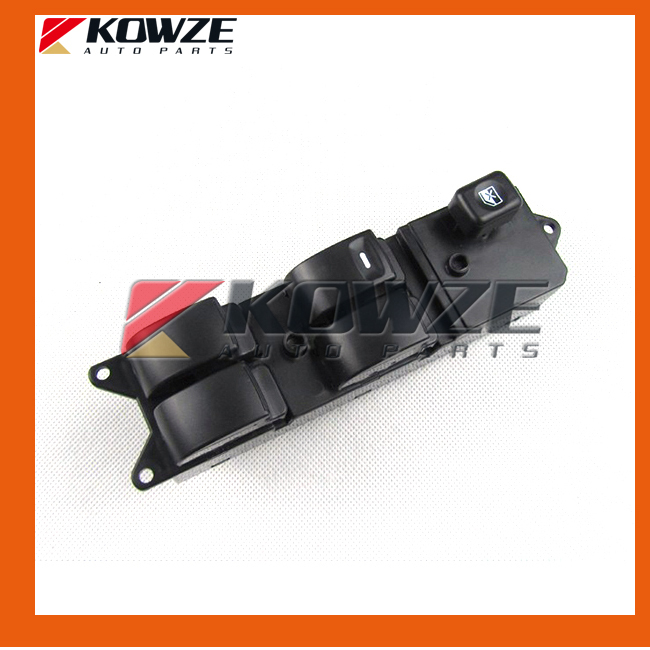 Power Window Driver Side Main Switch LHD For Mitsubishi Pajero Lancer L200 Sport Challenger Grandis KB4T V73 MR587942 Quality B стоимость