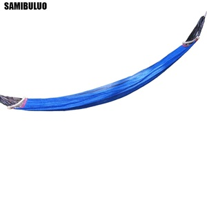 Image 3 - SAMIBULUO Camping Rural Style For Adult Portable Single Person Outdoor Travel Furniture Ice Silk Outdoor Hammock