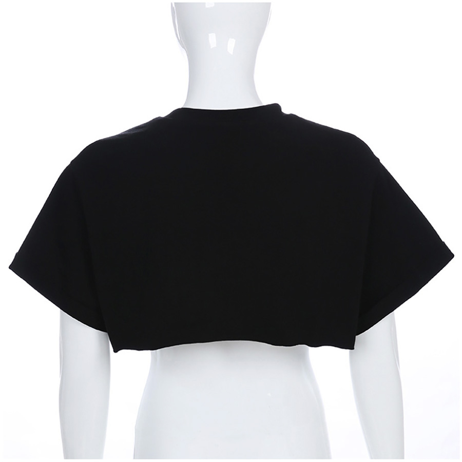 YUANLAI Women 39 s T shirt Gothic T shirts Summer Fashion Woman 2019 Top Clothes Streetwear Vintage Short Tshirt Clothing For Women in T Shirts from Women 39 s Clothing