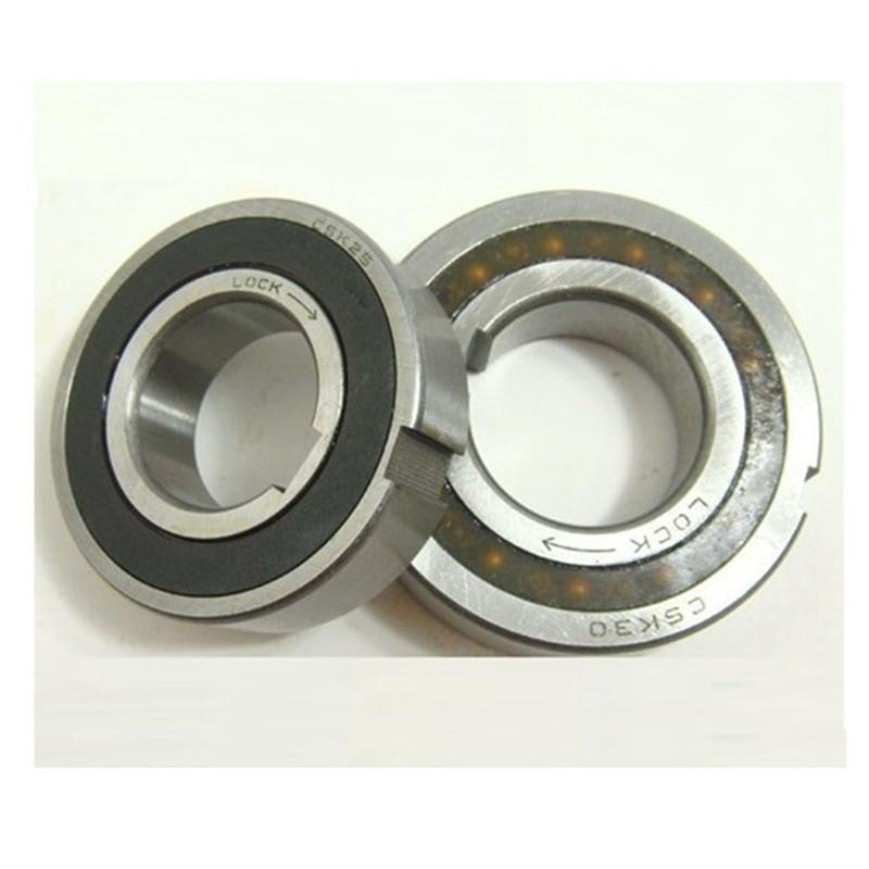 10pcs  CSK30PP  One Way Clutch Bearing With Keyway  30*62*16 Mm  Clutch Freewheel Backstop Bearings