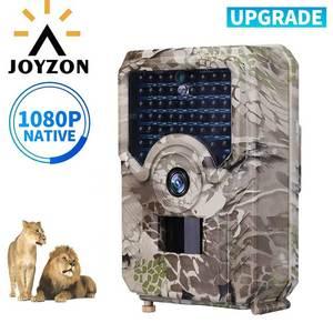 Image 1 - JOYZON HD 1080P охотничья камера 12MP 49pcs 940nm Инфракрасные светодиоды ночного видения охотничья ловушка для дикой природы камера ловушка для фото животных