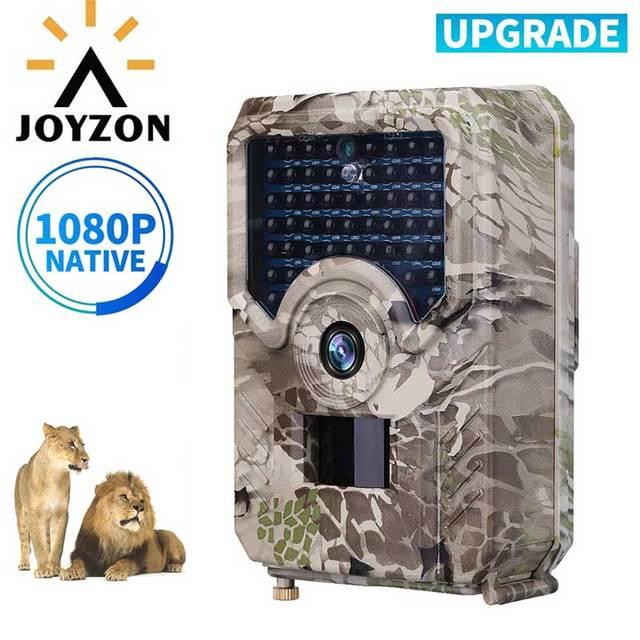 JOYZON HD 1080P cámara de caza 12MP 49 Uds 940nm LEDs infrarrojos visión nocturna trampas para cacería fauna Trail Cámara Animal foto Trap