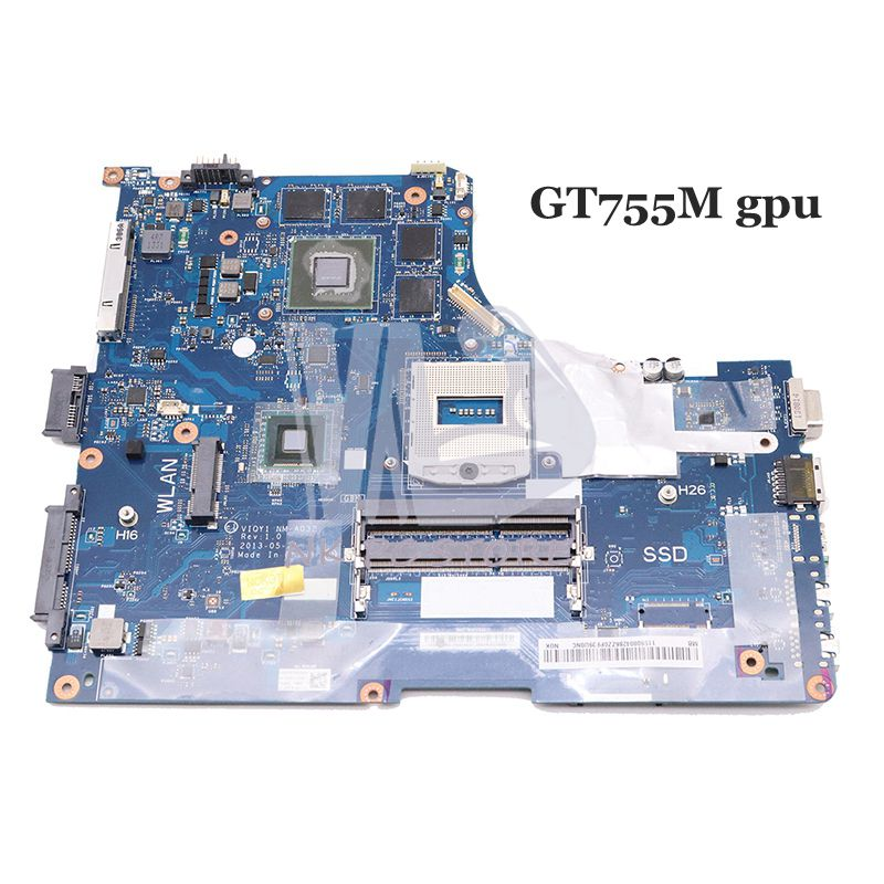 NOKOTION VIQY1 NM-A032 MAIN BOARD For Lenovo Ideapad Y510P Laptop Motherboard 15.6'' HM86 DDR3L GT755M 2GB Video Card