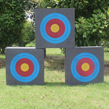 ФОТО 1pc Direct selling Eva sponge archery target archery equipment durability for recurve bow and compound bow match or game