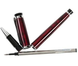 Image 3 - 24 шт./лот, авторучки или гелевые ручки роллеры, 4 цвета на выбор, Baoer 508, стандартная ручка для офиса, школы, канцелярские принадлежности, бесплатная доставка