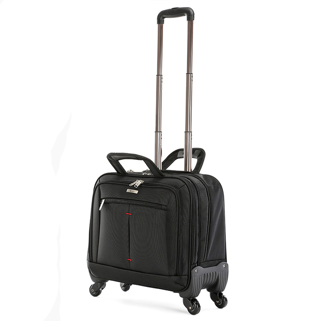 Us 94 25 35 Off Aliexpress Beasumore Multifunction Men Rolling Luggage Spinner 18 Inch Business Computer Carry On Trolley Travel Bag