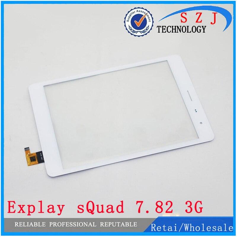 Original 7.85 inch Explay sQuad 7.82 3G Tablet Touch Screen Panel Digitizer Glass Sensor Black and white Free Shipping чехол explay platinum для explay l2 3g cinematv 3g