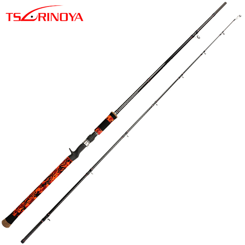 TSURINOYA Casting Rod 2.28m 2.4m 2 Sections XH/SH Power