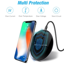 Wireless Phone Charger – iPhone & Android