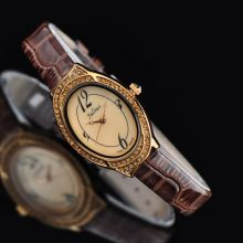Retro Ladies's Watch Japan Quartz Hours High quality Vogue Costume Bracelet Leather-based Clock Luxurious Shell Woman Birthday Present Julius Field 620
