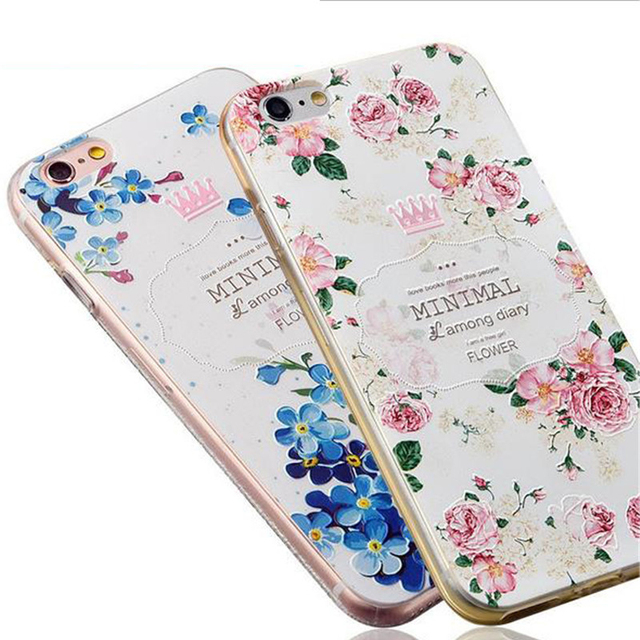 Soft Silicon Phone Cases For Apple iPhone iPhone 6 6S 6Plus 6SPlus