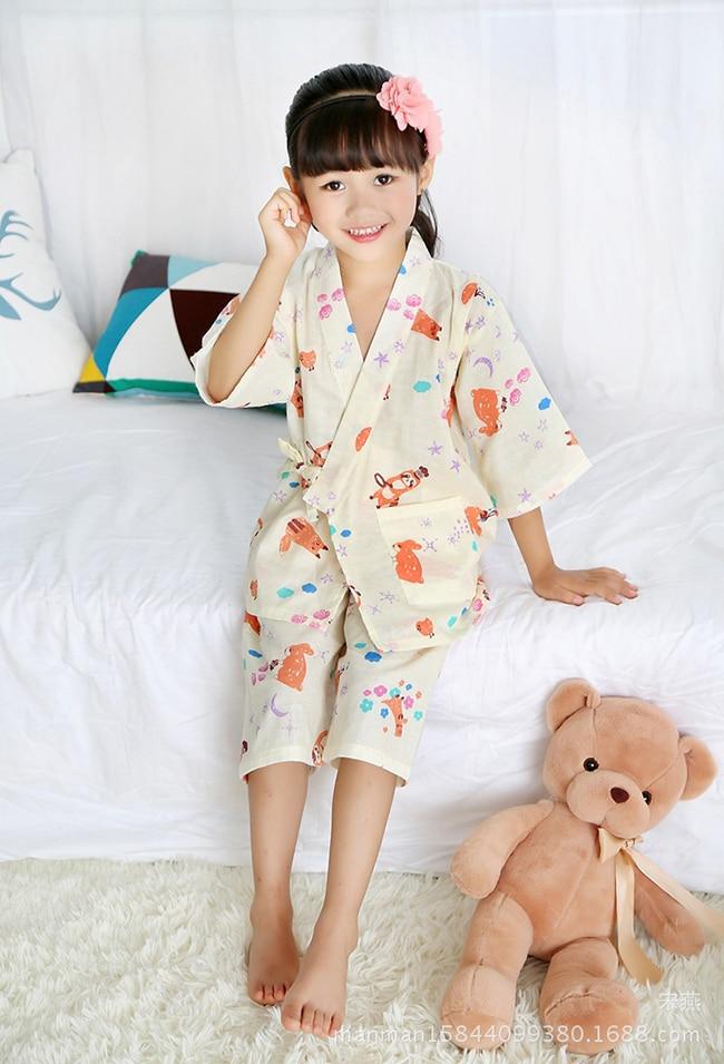 2017 autumn garden kimono frill dresses for baby girls dress kids cute clothing vestido
