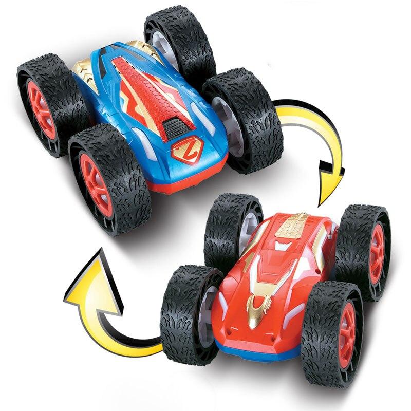 ATTOP télécommande hors route voitures double face rebondissant électrique RC voiture Rock jouet radiocommandé lecteur jouets pour garçons enfants cadeau