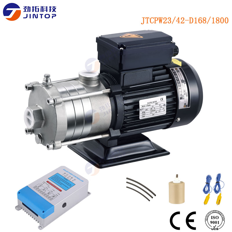 (Modèle JTCPW23/42-D168/1800) JINTOP pompe solaire de surface pompe à eau solaire système de pompe à eau pour l'irrigation fabriqué en chine