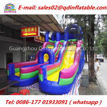 Quick delivery 16ft inflatable Climbing Slides Children Toys,Inflatable bouncer jumping slide for Adults and children