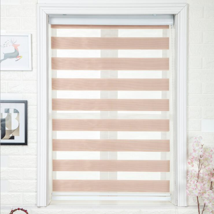 FREE SHIPING Window Curtain Zebra Blinds Roller Blinds For