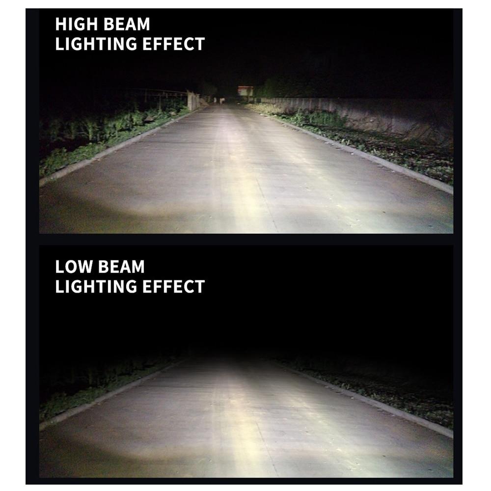 2 pcs Mobil Dipimpin Lampu H1 / H4 / H7 / H11 Hi-Lo COB Beam 12 V - Lampu mobil - Foto 6