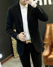Мужская шерстяное пальто короткий параграф мужской Корейской версии самосовершенствование шерстяные пальто ветровка молодежи пальто прилив