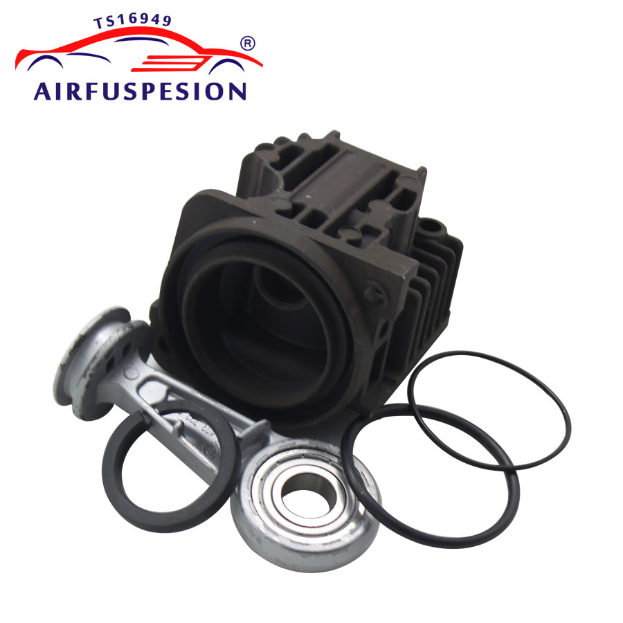 For X5 E53 A6 C6 Q7 VW Touareg Cayenne L322 Air Compressor Pump Cylinder Head Piston Ring Connecting Rod Repair kit 4L0698007AFor X5 E53 A6 C6 Q7 VW Touareg Cayenne L322 Air Compressor Pump Cylinder Head Piston Ring Connecting Rod Repair kit 4L0698007A
