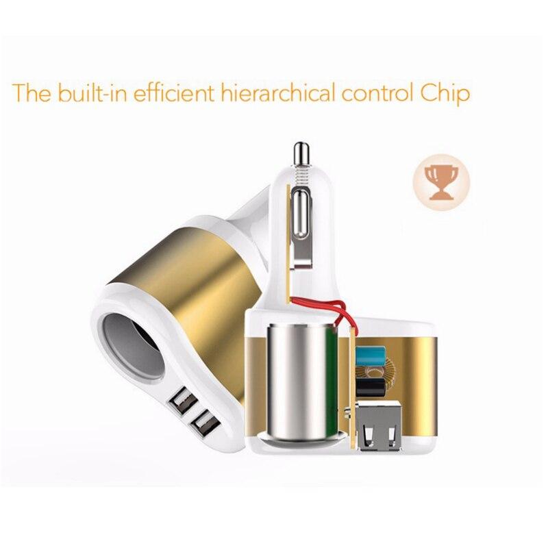 LYBALL 3.1A Schnellladung Dual USB Autoladegerät für iPhone Samsung - Handy-Zubehör und Ersatzteile - Foto 6