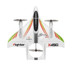 CREAT POWER STAR Wltoys Xk X450 6-way Brushless Vertical Takeoff / Landing Fixed-wing Airplane Aircraft Leading Star ZLRC