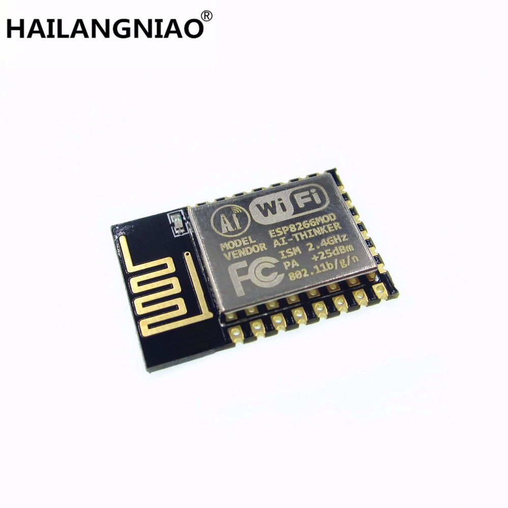 10pcs/lot ESP8266 serial WIFI model ESP-12 ESP-12E ESP12E Authenticity Guaranteed ESP12 official doit mini ultra small size esp m2 from esp8285 serial wireless wifi transmission module fully compatible with esp8266