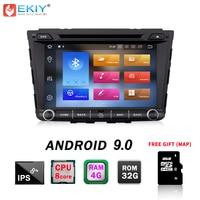 EKIY ips 2Din 4G + 32G Android 9,0 автомобильный DVD мультимедийный плеер для hyundai IX25 Creta gps навигация Стерео Авторадио WiFi BT OBD