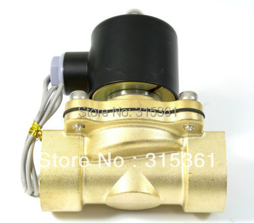 Free Shipping Electric Solenoid Valve Water Air N/C 220V AC 3/4 2W200-20 Option DC12V,DC24V or AC110V