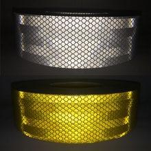 50 мм x5m светоотражающая лента наклейки для стайлинга автомобиля